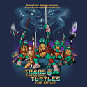 The Trans-Dimensional Turtles