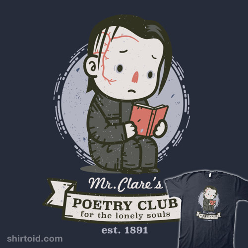 Mr  Clare's Poetry Club | Shirtoid