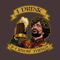 He Drinks