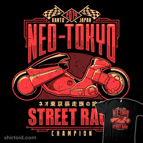 Neo-Toyko Street Racing Champion