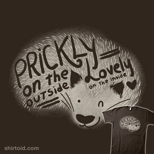 Prickly on the outside – lovely on the inside