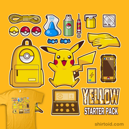 Yellow Starter Pack