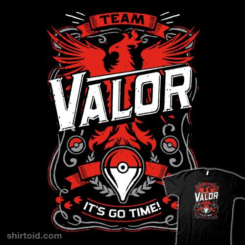It's Go Time – Team Valor