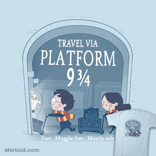 Travel via Platform 9 3/4