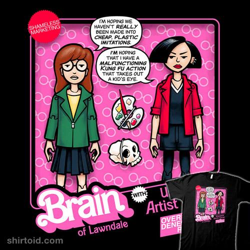 Brain of Lawndale Doll