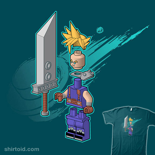 The Blocky Hero of Midgar