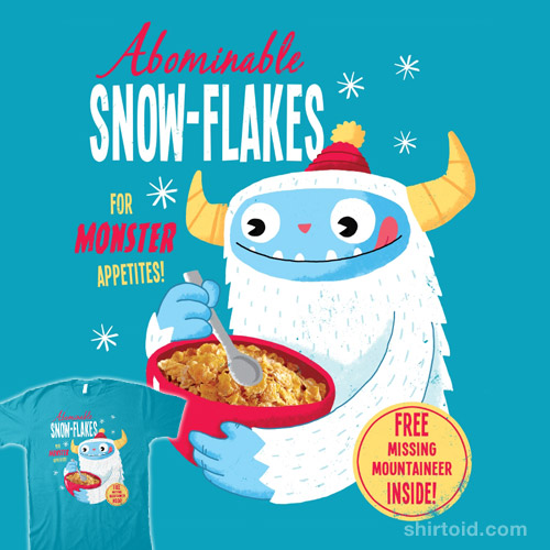 Abominable Snow-Flakes