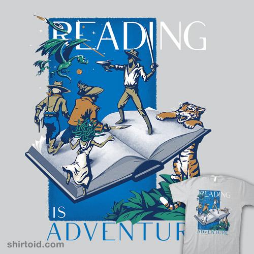 Adventure Awaits in Books!