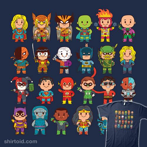 Delightfully Cute Little Heroes