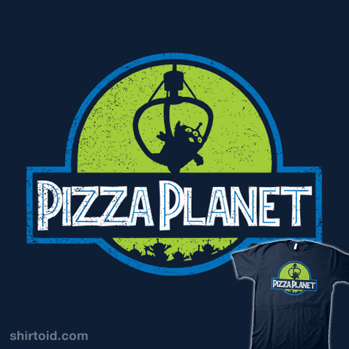 Pizza Planet Shirtoid