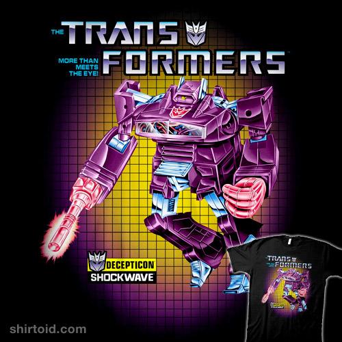 Transformers Box Art Shockwave