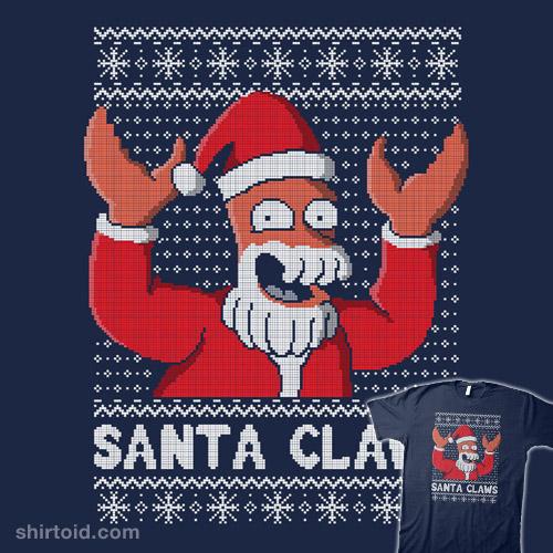 Zoiberg Santa Claws