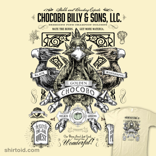Chocobo Billy and Sons LLC
