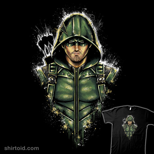 Green Hooded Hero