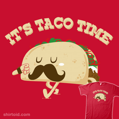 Taco time coupon book fundraiser
