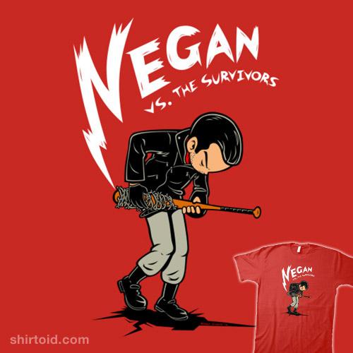 Negan vs. the survivors