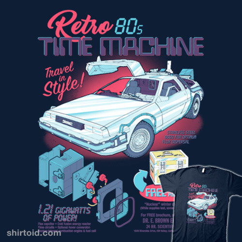 Retro 80's Time Machine
