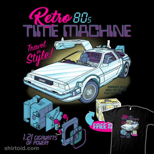 Retro 80's Time Machine