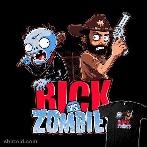 Rick vs. Zombies
