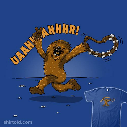 Streaking Wookiee