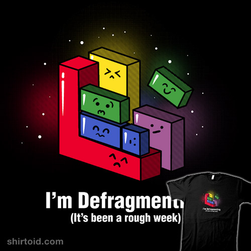 Defragmenting