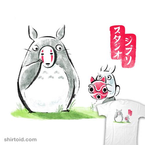 Ghibli ink