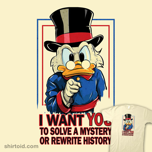 I Want YOU to Solve a Mystery or Rewrite History