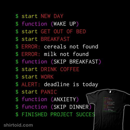 Monday Programmer