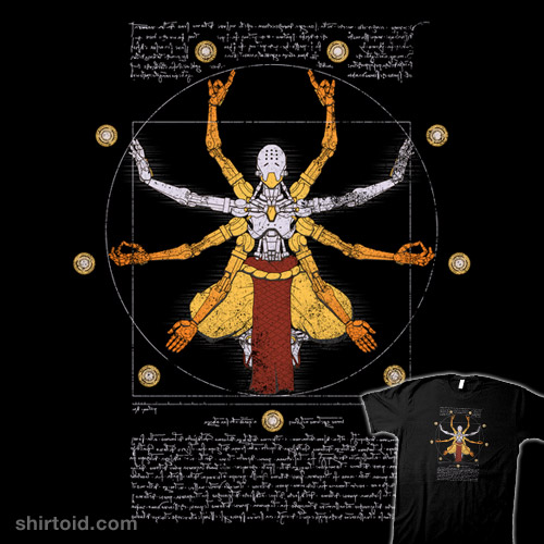 Vitruvian Omnic – color version