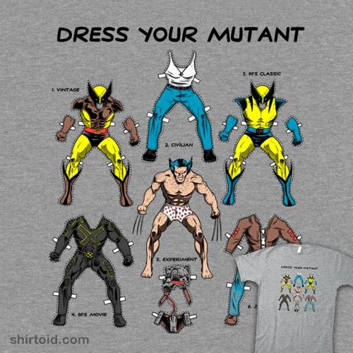 Dress Your Mutant