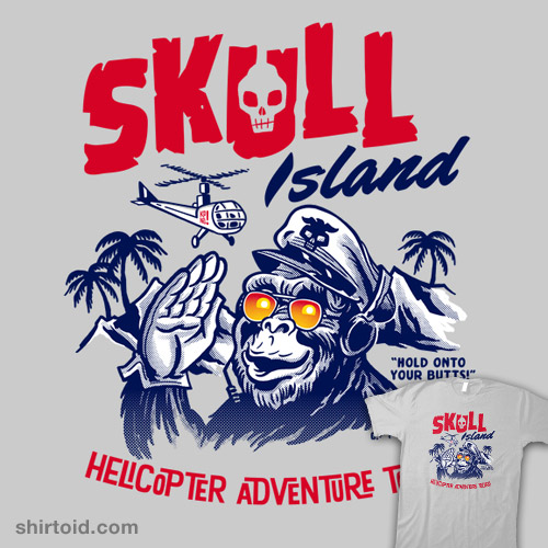 Skull Island Helicopter Tours