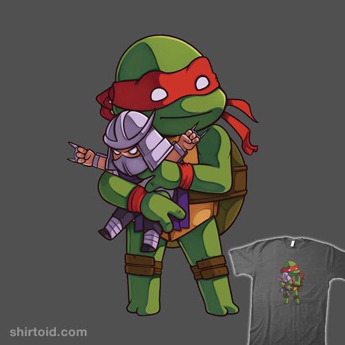 Raphael & Shredder