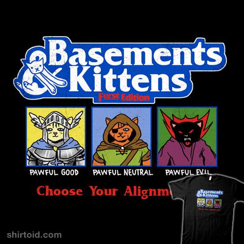 Basements & Kittens