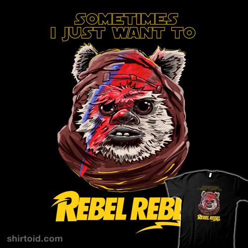 Rebellious Ewoks