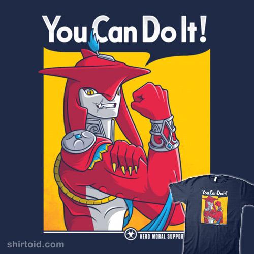 Supportive Shark-Man