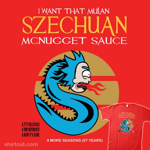 Szechuan McNugget Sauce