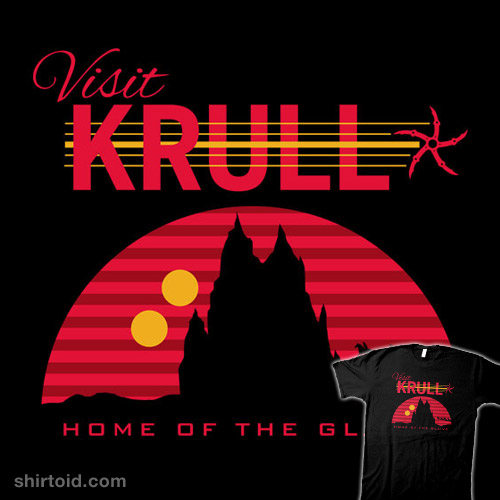 Visit Krull – Home of the Glaive | Shirtoid