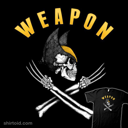 Weapon X Pirate Flag