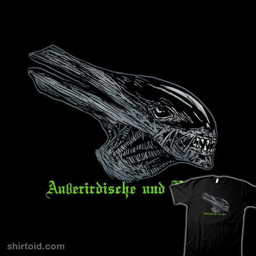 Alien and Duck