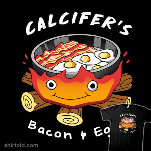 Calcifer's Bacon and Eggs