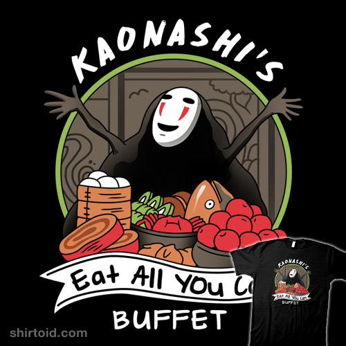Kaonashi's Eat All You Can Buffet
