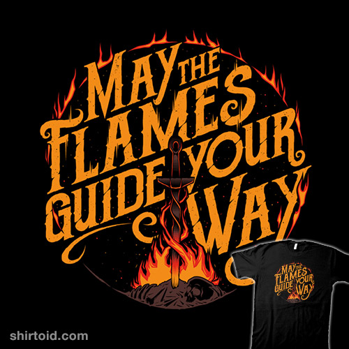 The Flames Guide Me