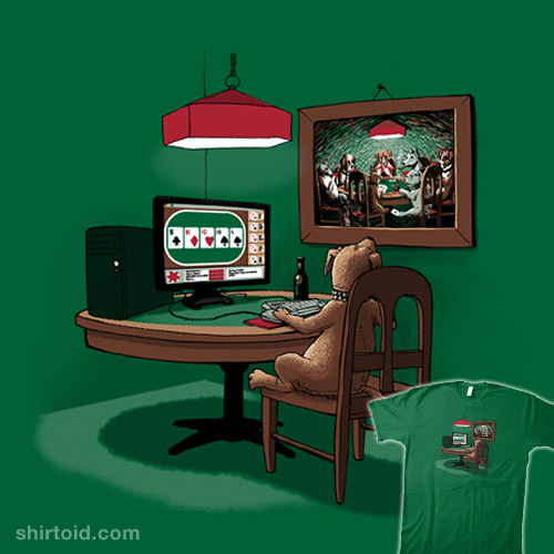 Dog Playing Poker Online