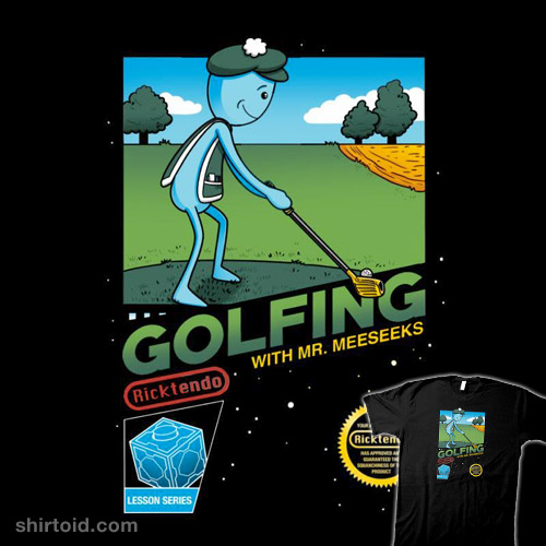 Golfing with Mr. Meeseeks