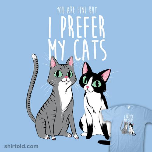 I prefer my cats