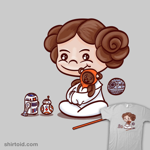 Little Leia and Her Toys