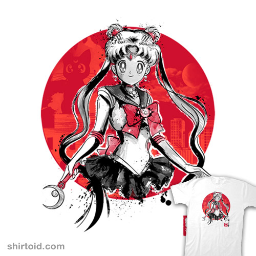 Pretty Guardian Sumi-e