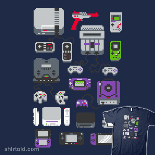 Super Pixel Of My Childhood