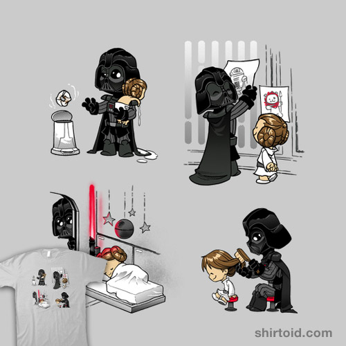Father of the Year: Leia Variant