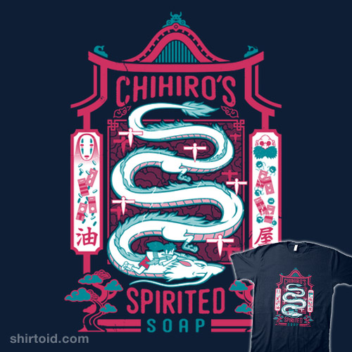 Chihiro's Spirited Soap